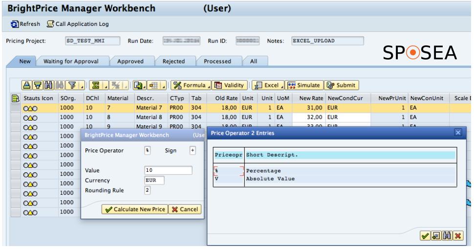 Price Maintenance in SAP software